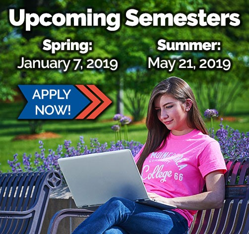 Apply for spring or summer semester now!