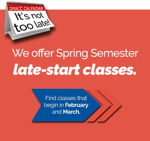 Apply for spring semester now!