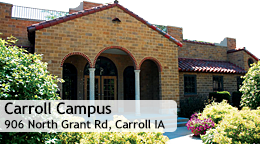 Carroll Campus, 906 North Grant Rd., Carroll, IA