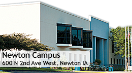 Newton Campus, 600 N. 2nd Ave. West, Newton, IA 50208