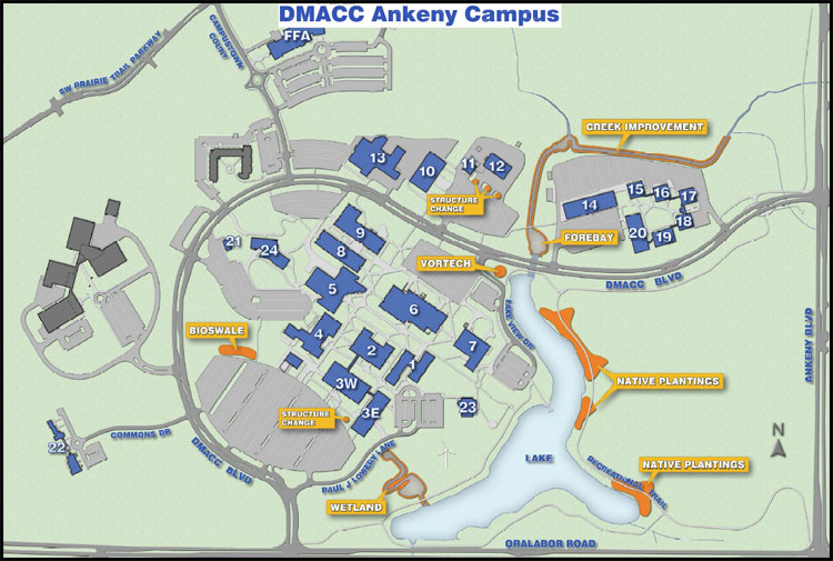 2011 Watershed Improvements at DMACC Ankeny Campus
