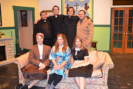 Cast of Boone campus theater
