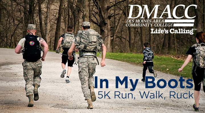 DMACC In My Boots 5K Run, Walk, Ruck