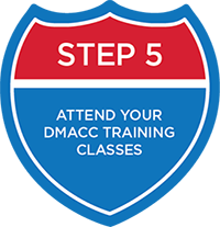Attend Your DMACC Training Classes
