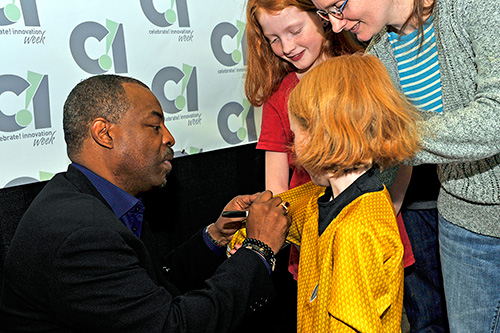 Levar Burton and fans