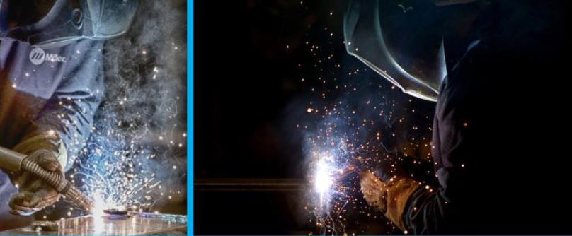 Vermeer Corporation photos showing welders