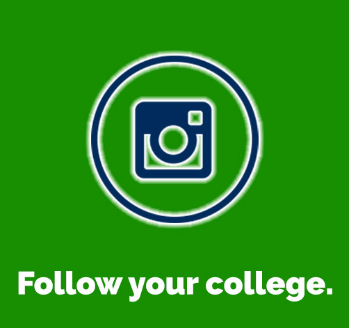 Follow your college on Instagram