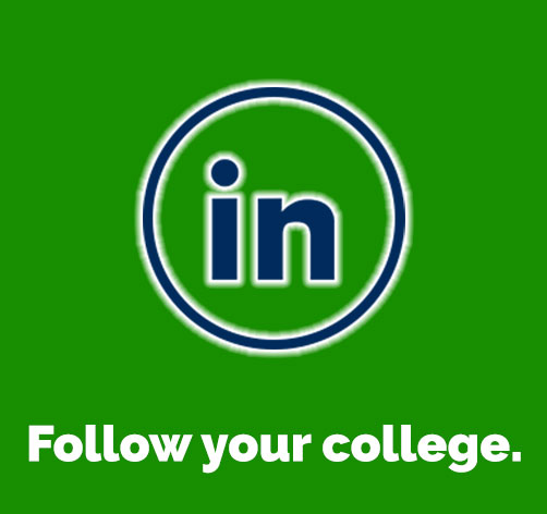 Follow your college on LinkedIn