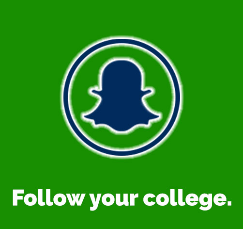 Follow your college on Snapchat