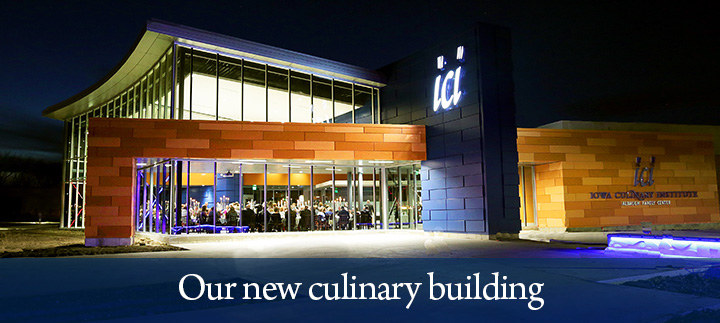 Our new culinary building