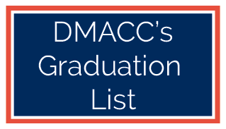 DMACC's Graduation List