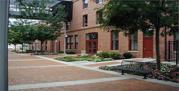 Building 16 Courtyard