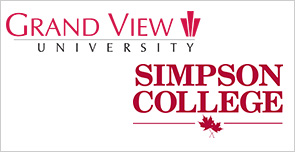 Grand View University and Simpson College
