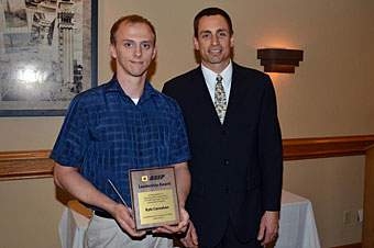 Kyle Carnahan received ASEP Leadership Award