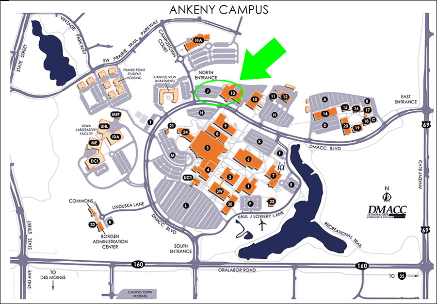 Ankeny Map, Building 13