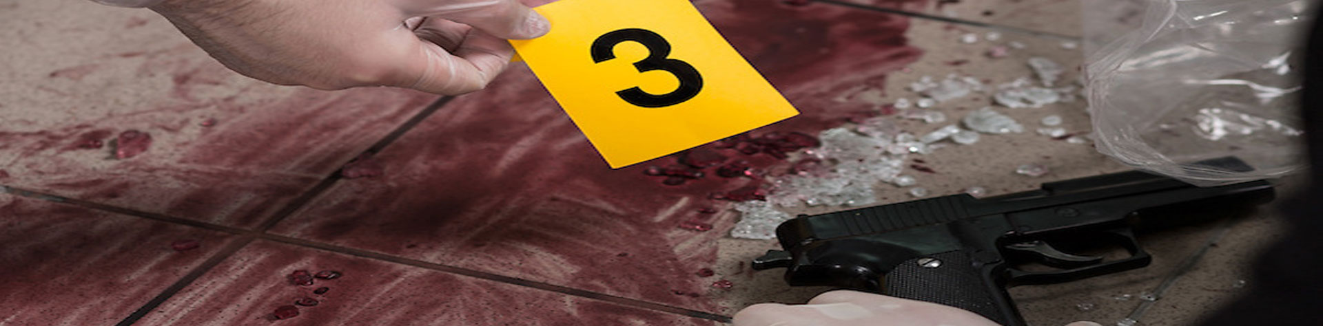 DMACC CSI Certificate Program - crime scene photo