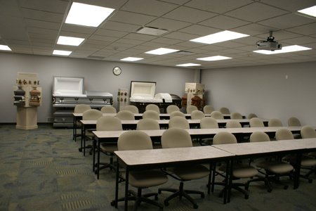 Mortuary Science Classroom 2