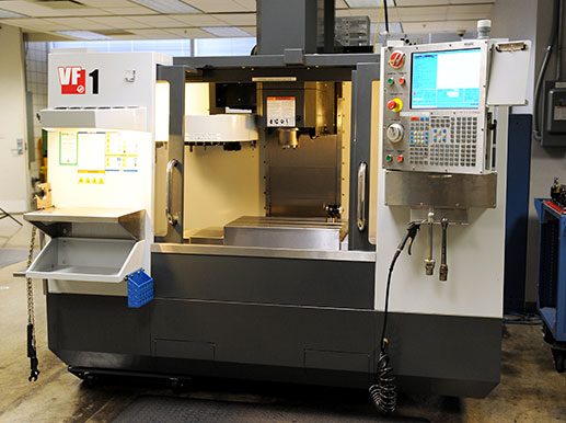 HAAS vertical machining center