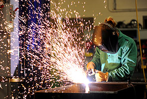 Southridge Center has a welding program
