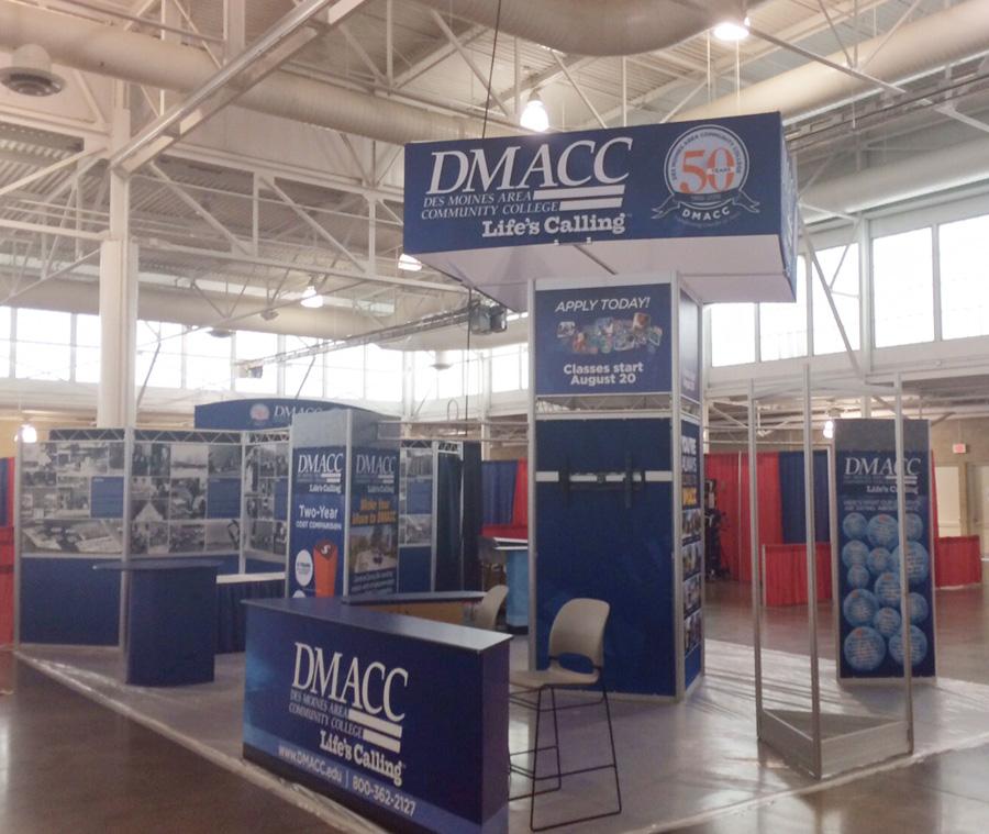 iowa state fair dmacc booth activities calendar