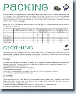 Packing information - click to view