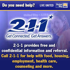 2-1-1 Get Connected. Get Answers.