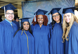 DMACC Students in Cap and Gowns