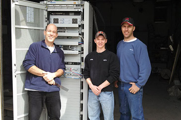 Nortel Donation from Webster-Calhoun Cooperative Communications